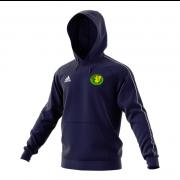 Kilmarnock CC Adidas Navy Fleece Hoody