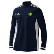 Kilmarnock CC Adidas Navy Zip Training Top