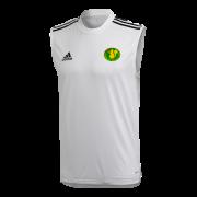 Kilmarnock CC Adidas White Training Vest