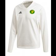 Kilmarnock CC Adidas Elite Long Sleeve Sweater