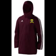 Port Sunlight CC Maroon Adidas Stadium Jacket
