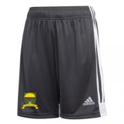 Port Sunlight CC Adidas Black Junior Training Shorts