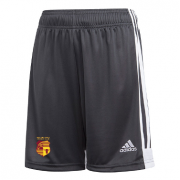 Walton Park CC Adidas Black Junior Training Shorts