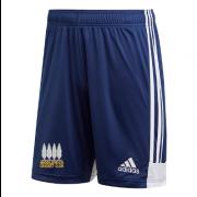 Middlewich CC Adidas Navy Training Shorts