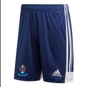 Batley CC Adidas Navy Junior Training Shorts