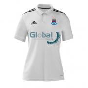 Batley CC Adidas White Polo