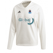 Batley CC Adidas Elite Long Sleeve Sweater