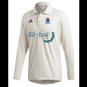 Batley CC Adidas Elite Long Sleeve Shirt