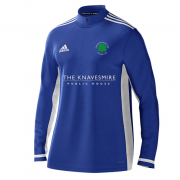 Ovington CC Adidas Royal Blue  Zip Training Top