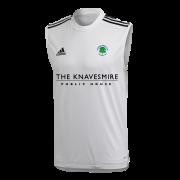 Ovington CC Adidas White Training Vest