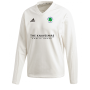 Ovington CC Adidas Elite Long Sleeve Sweater