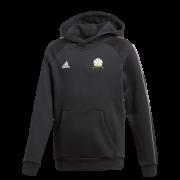 Loftus CC Adidas Black Junior Fleece Hoody