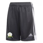 Loftus CC Adidas Black Junior Training Shorts