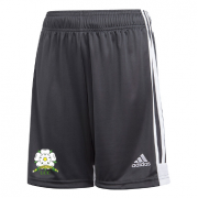 Loftus CC Adidas Black Training Shorts