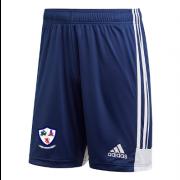 Dunfermline CC Adidas Navy Training Shorts