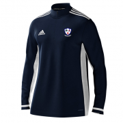 Dunfermline CC Adidas Navy Zip Training Top