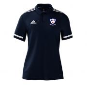Dunfermline CC Adidas Navy Polo