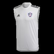 Dunfermline CC Adidas White Training Vest