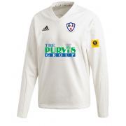 Dunfermline CC Adidas Elite Long Sleeve Sweater