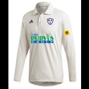 Dunfermline CC Adidas Elite Long Sleeve Shirt