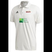 Beacon CC Adidas Elite Junior Short Sleeve Shirt