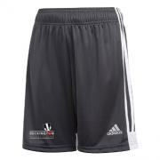 Beckington CC Adidas Black Junior Training Shorts