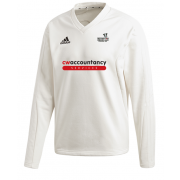 Beckington CC Adidas Elite Long Sleeve Sweater