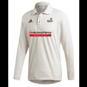 Beckington CC Adidas Elite Long Sleeve Shirt