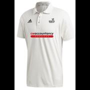 Beckington CC Adidas Elite Junior Short Sleeve Shirt