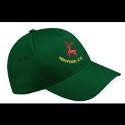 Hertford CC Green Baseball Cap