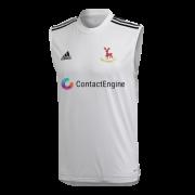 Hertford CC Adidas White Training Vest