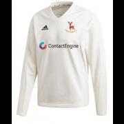 Hertford CC Adidas Elite Long Sleeve Sweater