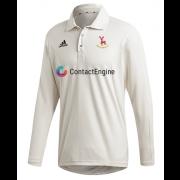 Hertford CC Adidas Elite Long Sleeve Shirt