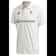 Hertford CC Adidas Elite Short Sleeve Shirt