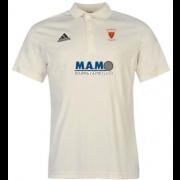 Monk Bretton CC Adidas Pro Junior Short Sleeve Polo