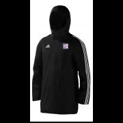 Dedham CC Black Adidas Stadium Jacket