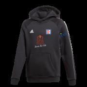 Dedham CC Adidas Black Junior Fleece Hoody