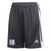 Dedham CC Adidas Black Junior Training Shorts