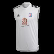 Dedham CC Adidas White Training Vest