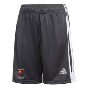 Bardsey CC Adidas Black Junior Training Shorts