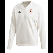 Bardsey CC Adidas Elite Long Sleeve Sweater