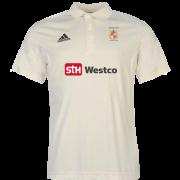 Westleigh CC Adidas Pro Junior Short Sleeve Polo