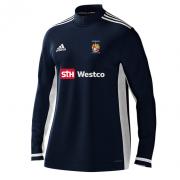 Westleigh CC Adidas Navy Zip Training Top