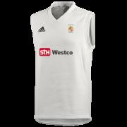 Westleigh CC Adidas Elite Junior Sleeveless Sweater