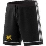 Murgheboluc CC Adidas Black Junior Training Shorts