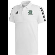 Murgheboluc CC Adidas White Polo