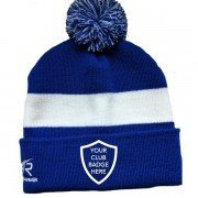 Camp Active Blue AR Bobble Beanie