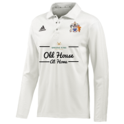 Aston University CC Adidas L-S Playing Shirt