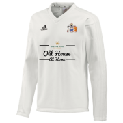 Aston University CC Adidas L-S Playing Sweater