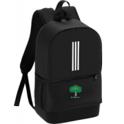Hillam & Monk Fryston CC Black Training Backpack